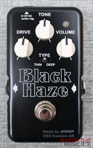Used EBS Black Haze Overdrive
