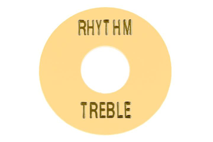 Rhythm and Treble Switch Ring - Cream Plastic
