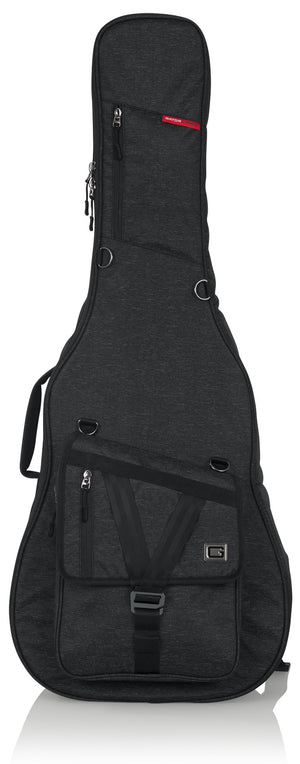 Gator Cases Transit Series Acoustic Guitar Bag Charcoal