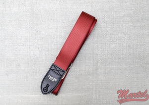 Couch Maroon Seatbelt Strap