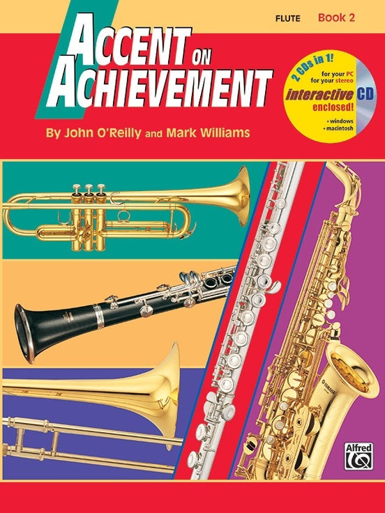 Alfred Accent on Achievement Flute Book 2
