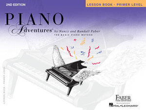 Hal Leonard Primer Level Lesson Book Piano Adventures