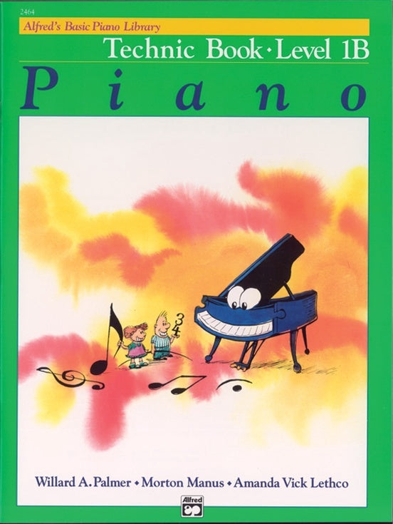 Alfred Basic Piano Library: Technic Book 1B