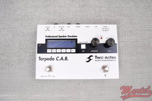 Used Two Notes Engineering Torpedo  Cab
