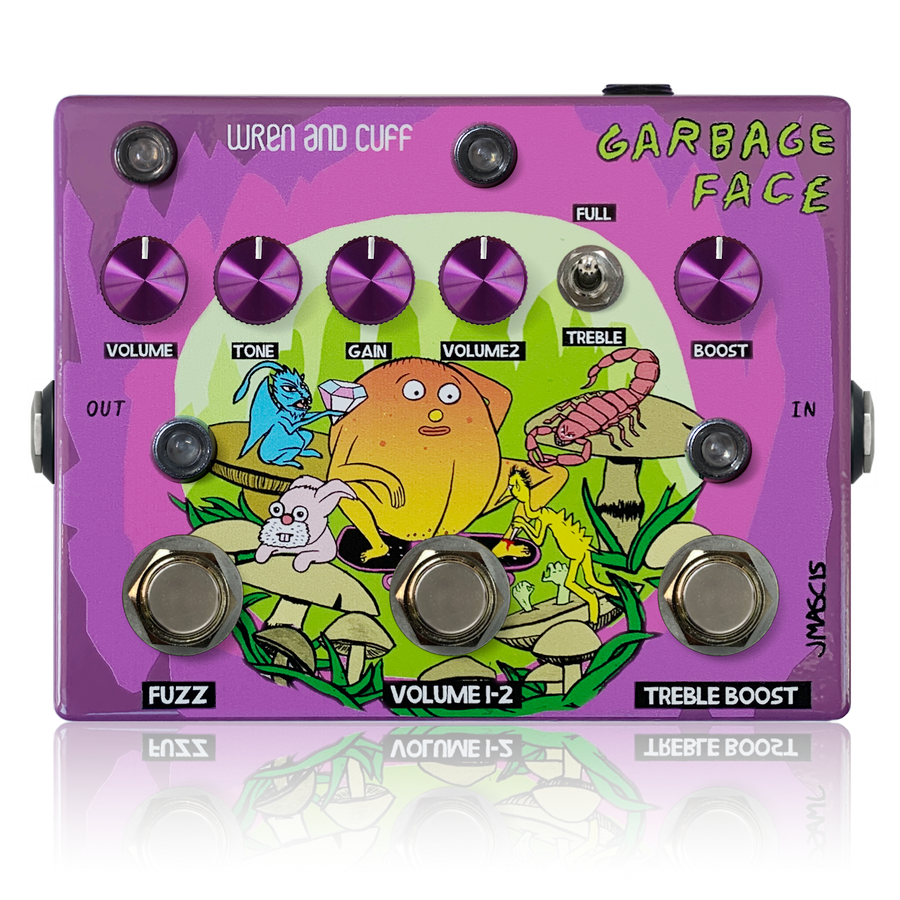 Wren and Cuff J Mascis Garbage Face Signature Pedal