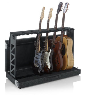 Gator Cases Rack Style 6 Guitar Stand That Folds Into Case