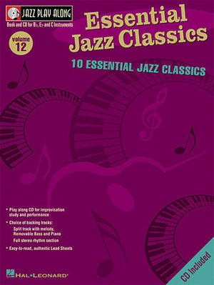Hal Leonard Essential Jazz Classics Jazz Play-Along