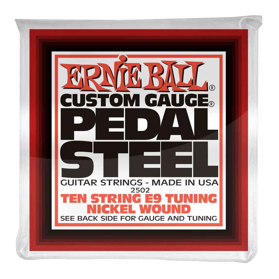 Ernie Ball Pedal Steel E9 Nickel Wound Strings