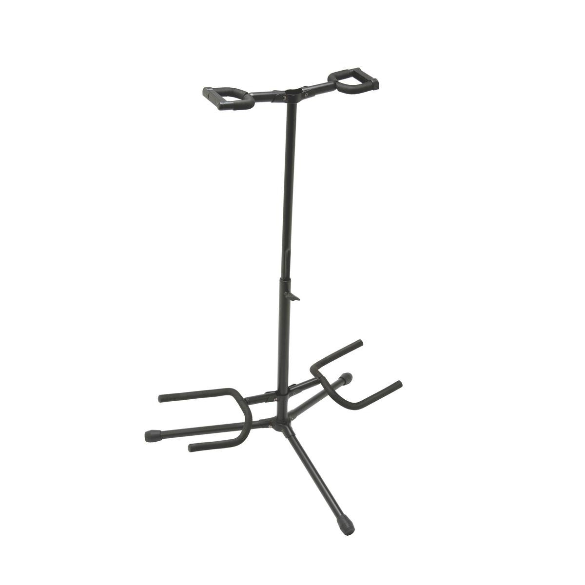 GS7221BD Deluxe Folding Double Guitar Stand