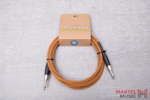 Rattlesnake Cable 10' Standard in Copper Straight Plugs