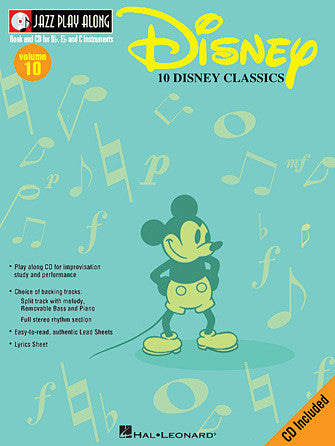 Hal Leonard Disney Jazz Play-Along
