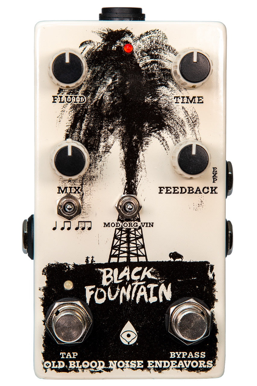 Old Blood Noise Endeavors Black Fountain Delay V3 w/ Tap