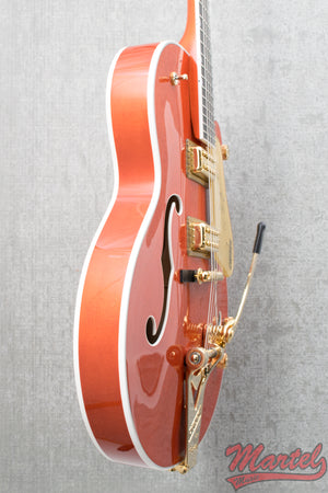 Gretsch G6120T Players Edition Nashville Orange Stain