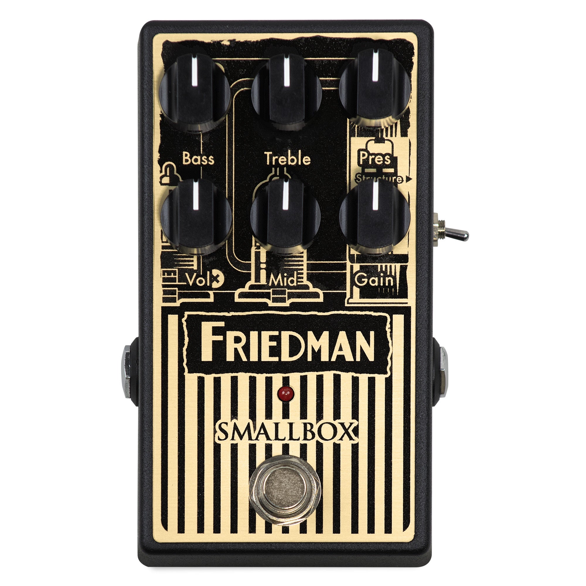 Friedman Smallbox Overdrive Pedal