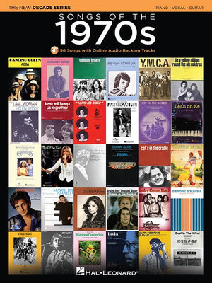 Songs of The 1970's, New Decade Series P/V/G