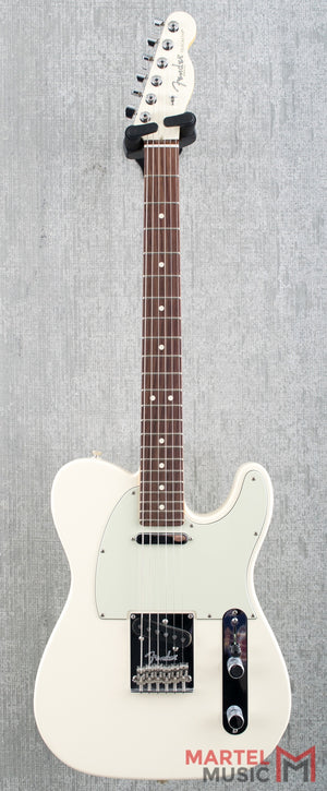 Used Fender American Standard Telecaster Limited Edition Olympic White