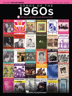 Songs Of The 1960's, New Decade Series For P/V/G