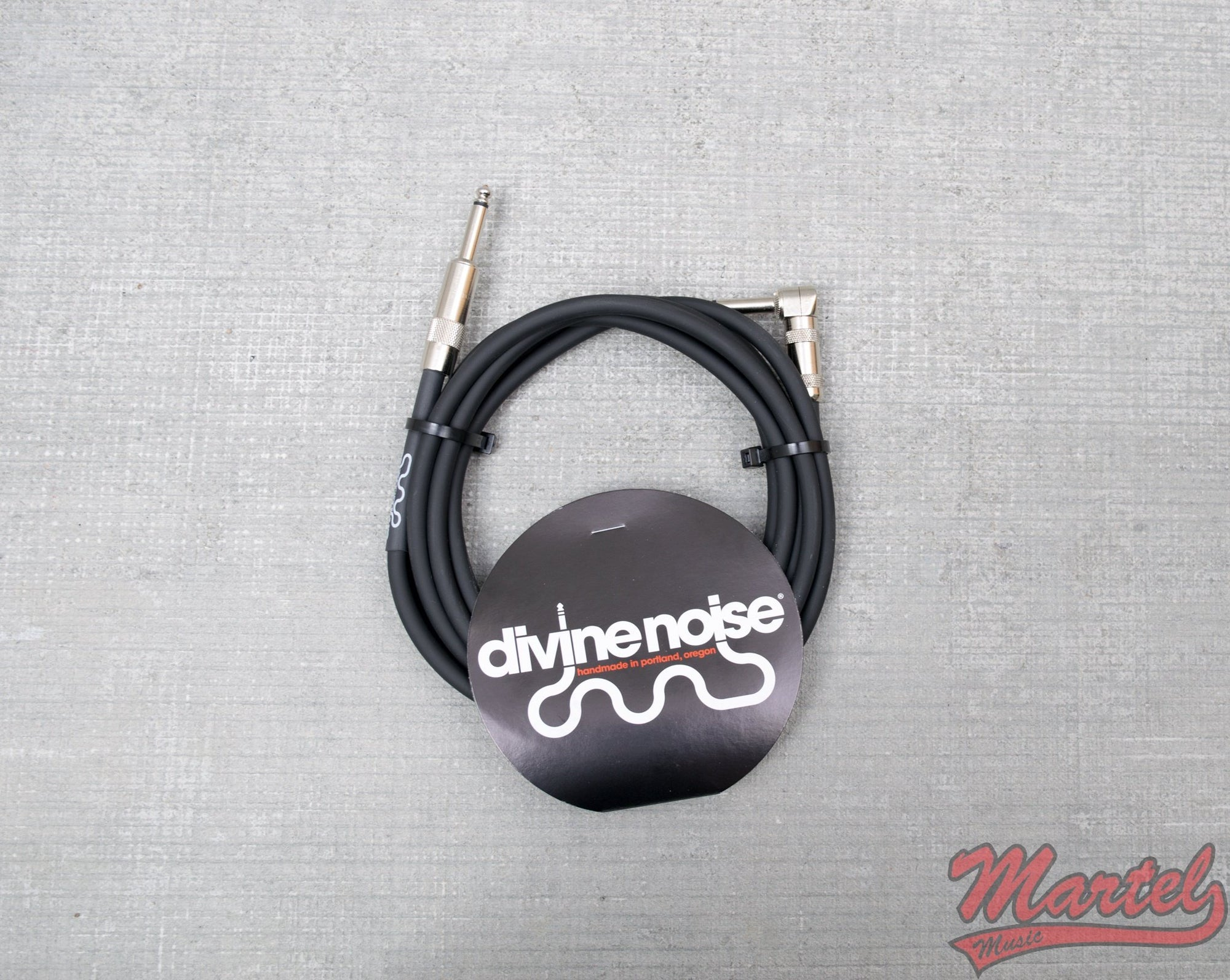Divine Noise 15ft Black Cable Mixed Ends
