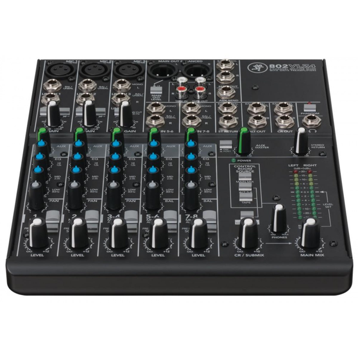 Mackie VLZ4 Series 8-Ch Ultra Compact Mixer