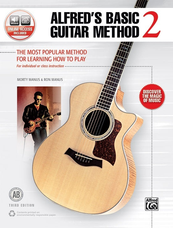 Alfred Basic Guitar Method Book 2