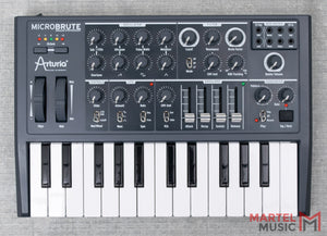 Used Arturia MicroBrute Analog Synthesizer