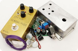 Build Your Own Clone Fuzz Pedal Kit
