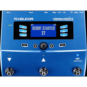 TC Helicon Voiceplay Live