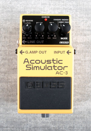 Used Boss Acoustic Simulator AC3