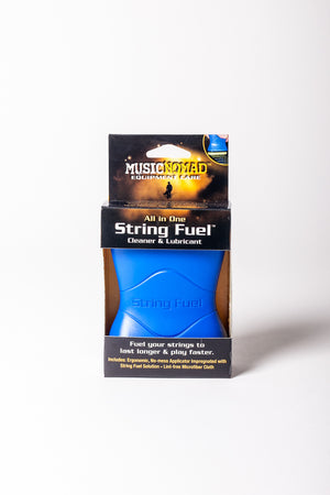 The Music Nomad String Fuel All in One String Cleaner & Lubricant
