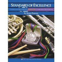 KJOS Standard of Excellence ENHANCED Book 2 - Drums & Mallet Percussion