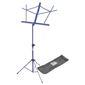 On Stage Compact Sheet Music Stand (Dark Blue, with Bag)