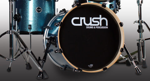 Crush Chameleon Bop 4 Piece Shell Pack Light Blue Sparkle