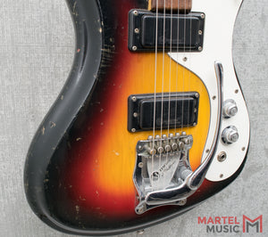 Used 1965 Mosrite Ventures II German Carve Body 3-Tone Burst