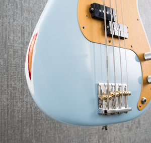 Used Fender Highway One Precision Bass Sonic Blue