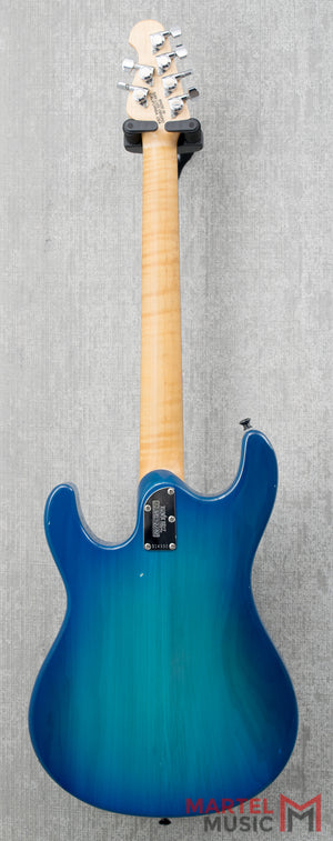 Used Music Man Steve Morse Signature Model Blue Burst