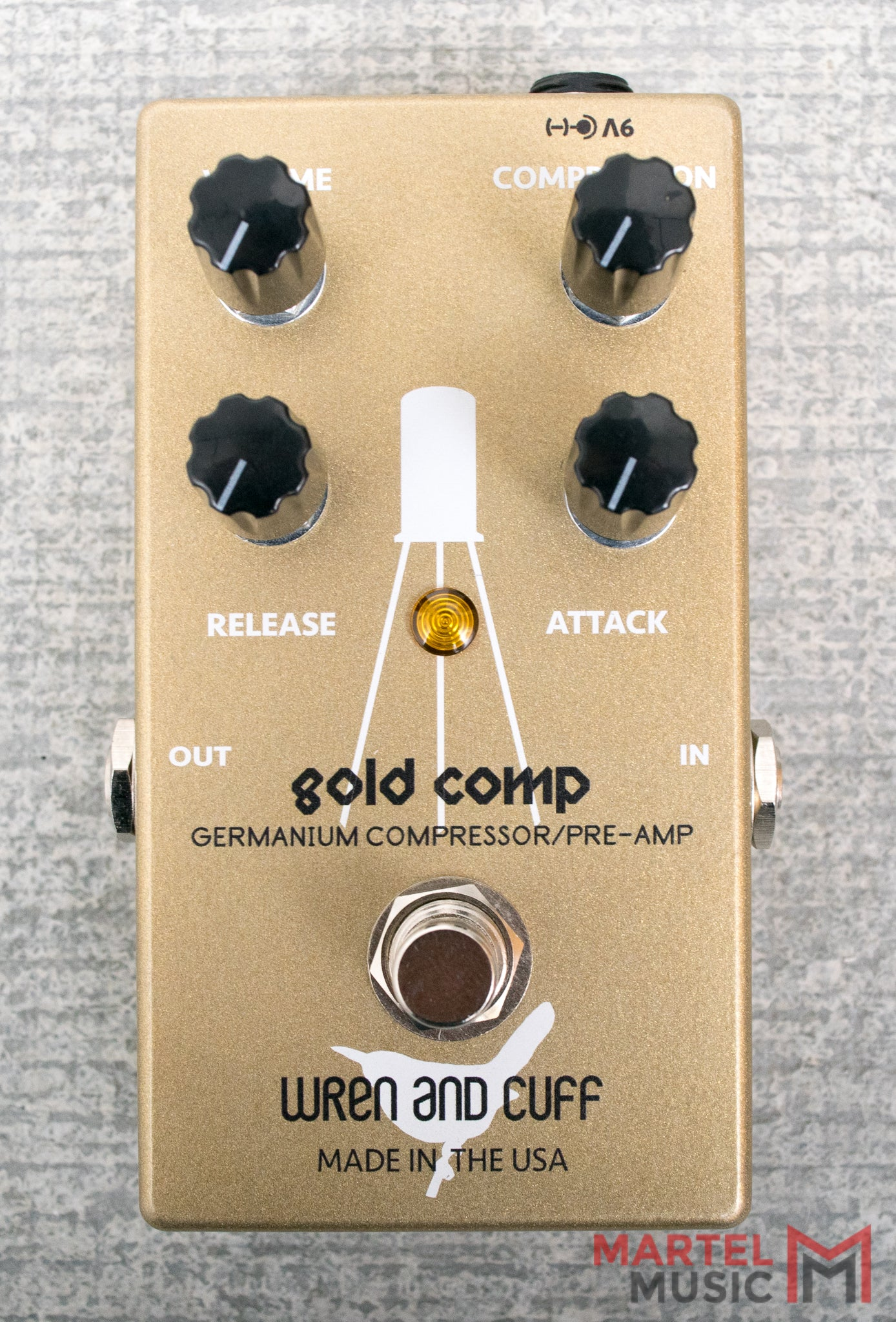 Wren And Cuff Gold Comp Compressor Martel Music Store Opamps Part I Open Labs