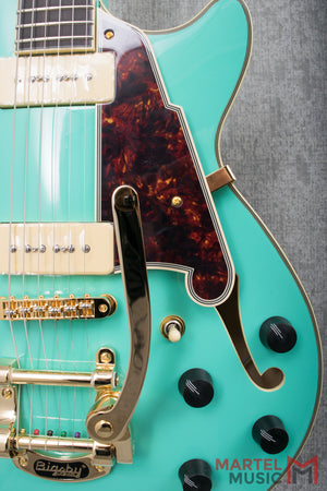 D'Angelico Excel SS Shoreline Surf Green