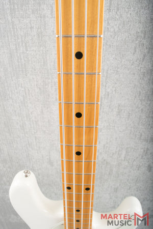 Music Man Cutlass Bass Ivory White