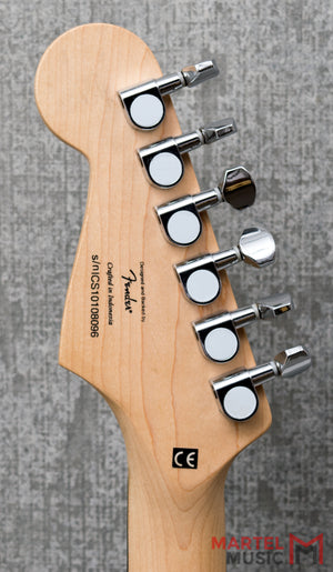 Used Squier Affinity Series Stratocaster Black