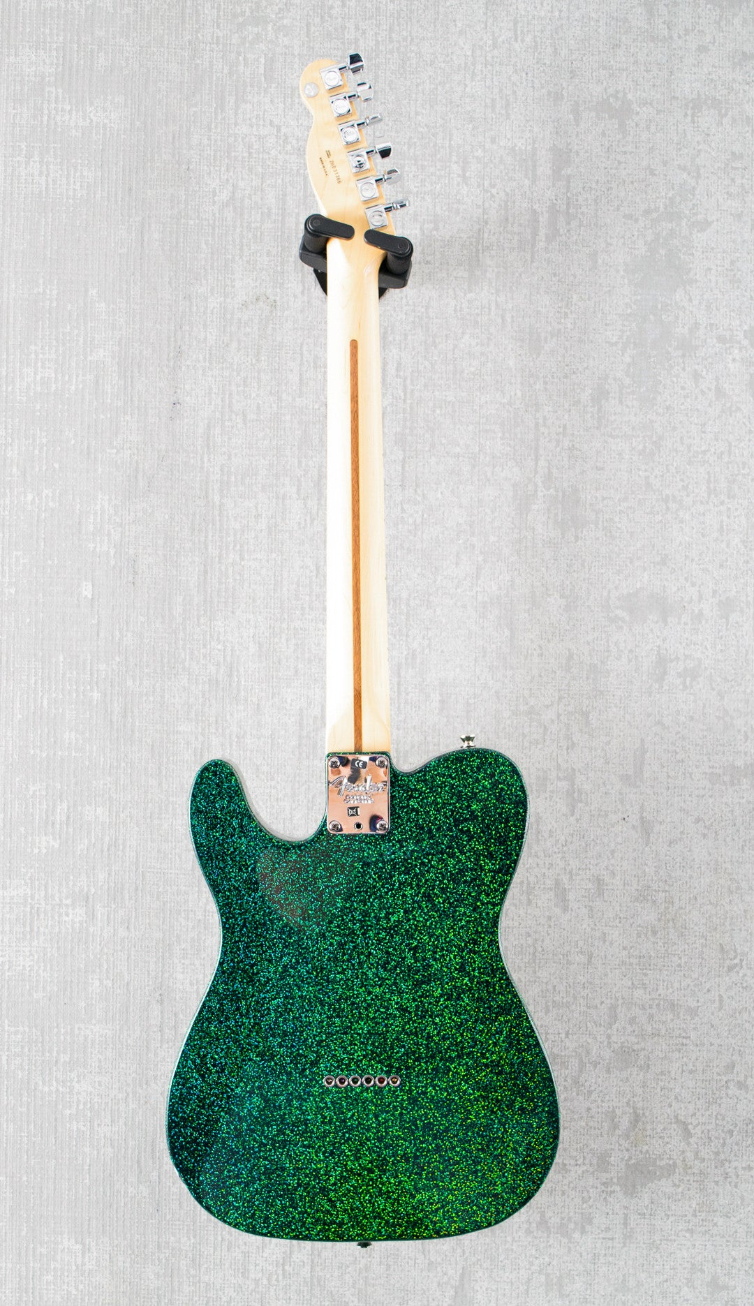 Used Fender American Ash Telecaster Green Sparkle Custom Finish