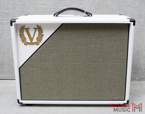 Victory V112-WW-65 White 1x12 Cabinet