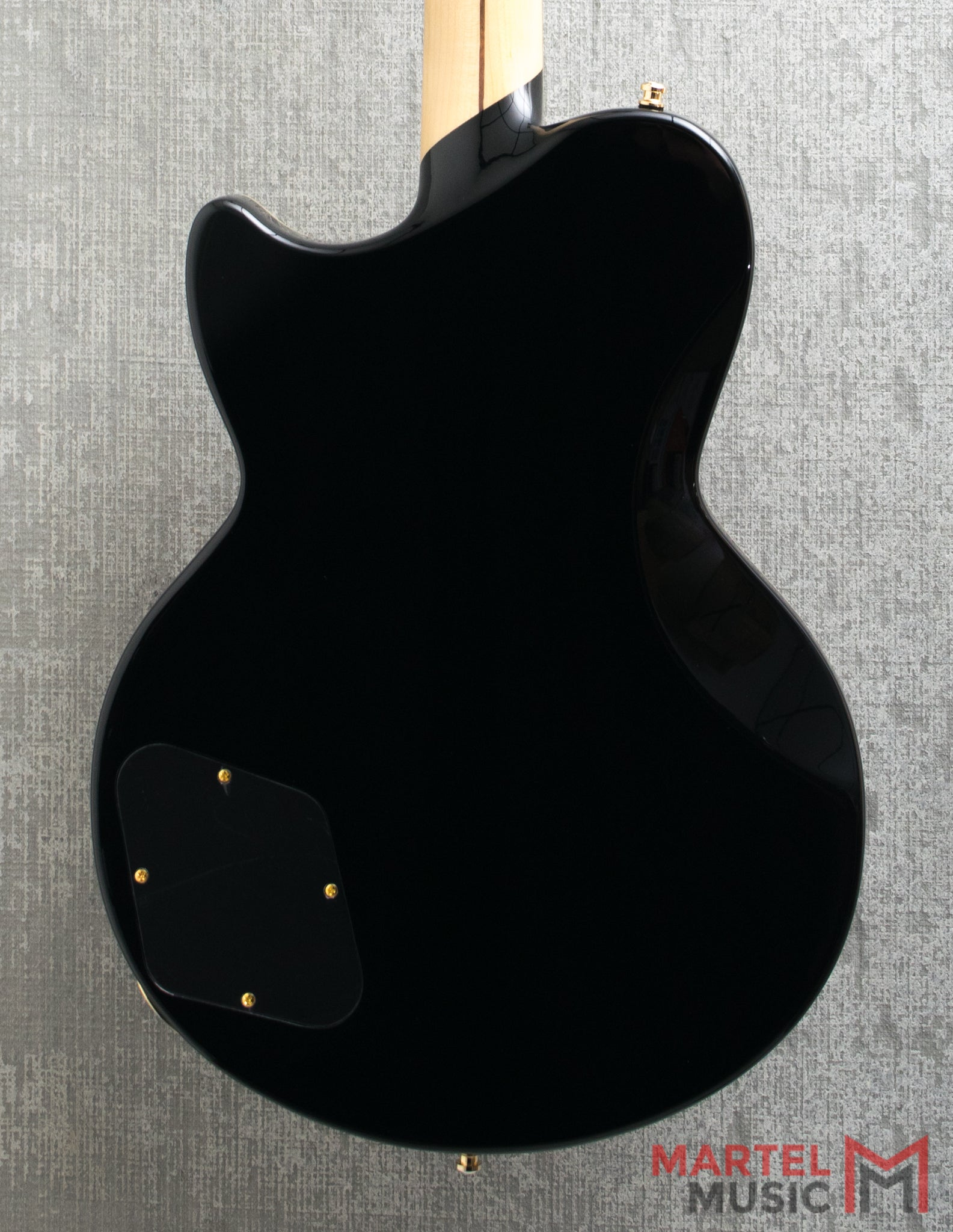D'Angelico Atlantic Deluxe in Black