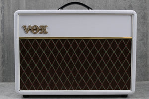 Vox Limited Edition AC10C1 White Bronco Combo Amplifier