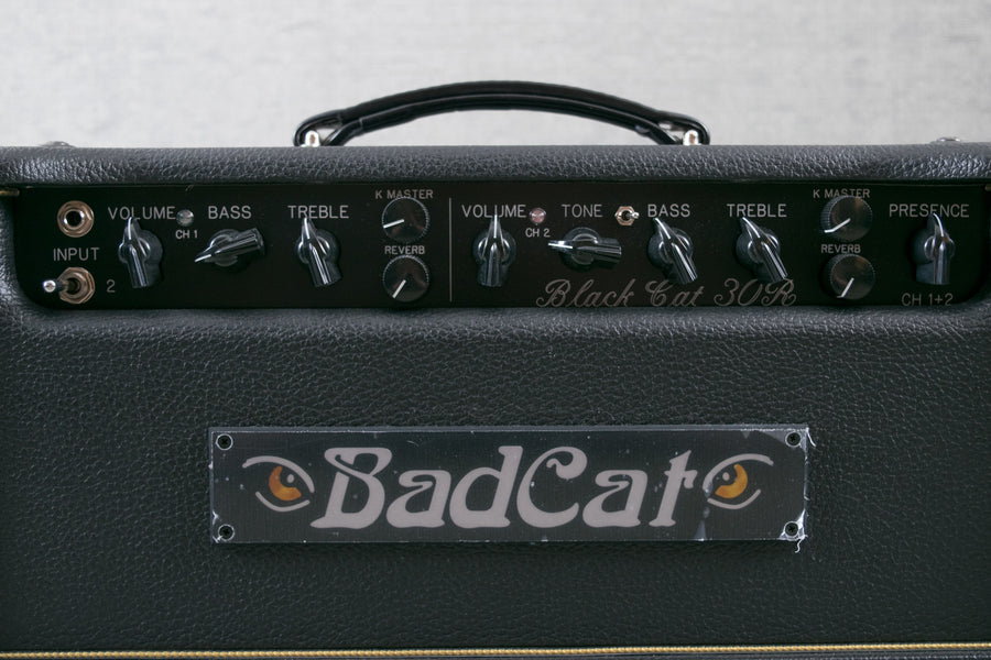 Bad Cat Black Cat 30R Head - Martel Music Store