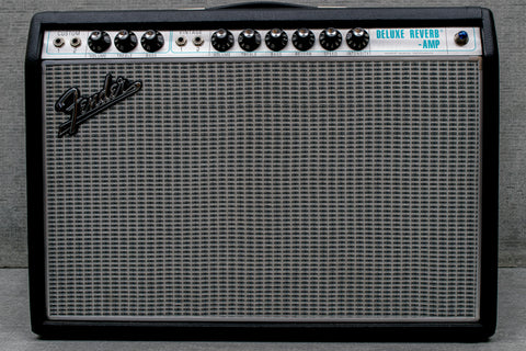 Used Fender '68 Custom Deluxe Reverb RI Combo Amplifier