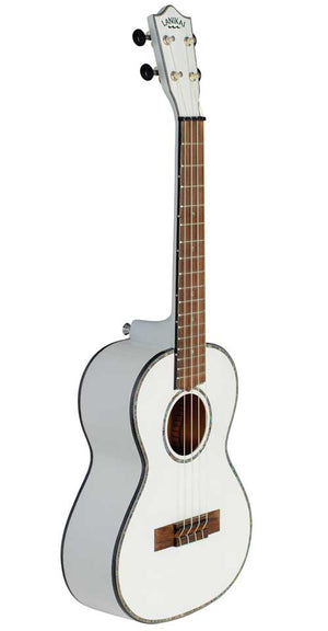 Lanikai Julia Michaels White Pearl Tenor Signature Ukulele