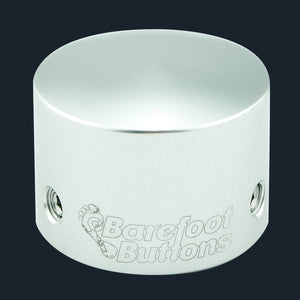 Barefoot Button V2 Tall Boy Silver Open Package