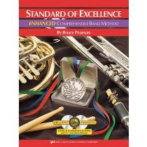 KJOS Standard of Excellence ENHANCED Book 1 - Drums & Mallet Percussion