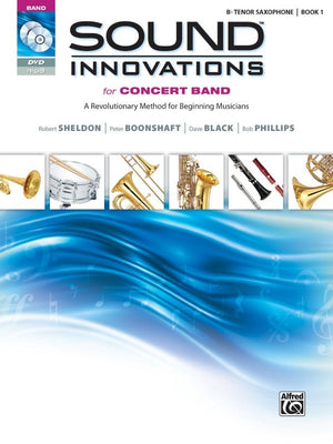 Alfred Sound Innovations for Concert Band Tenor Saxophone Book 1