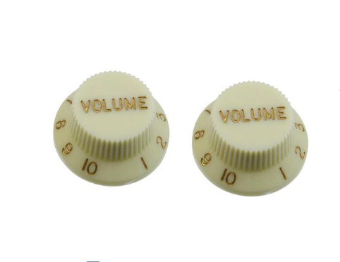 Set of 2 Mint Green Volume Knobs